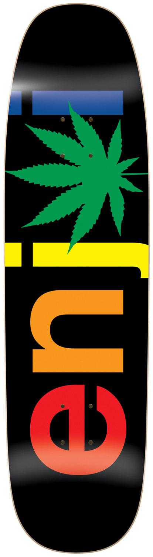 On Sale Enjoi Chronic Logo Skateboard Deck up to 45% off