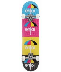 Enjoi Cmyk Skateboard Complete Multi