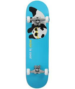 Enjoi Cool Skateboard Complete Blue 8in