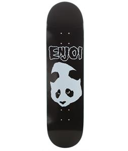 Enjoi Doesn't Fit R7 Skateboard Black