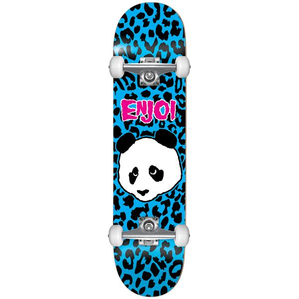 Enjoi Leopard Punk Skateboard Complete