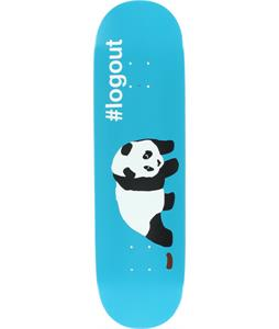 Enjoi Logout Panda Skateboard Deck