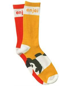 Enjoi Mixed Panda Feet Socks