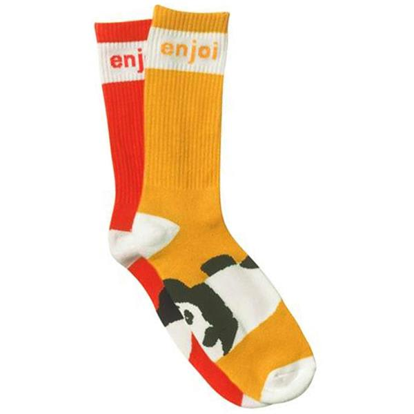 Enjoi Mixed Panda Feet Socks