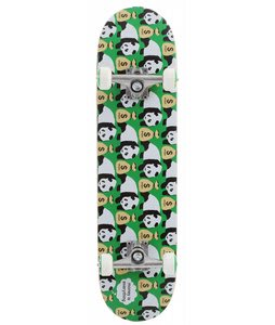 Enjoi Moneybags Skateboard Complete Green