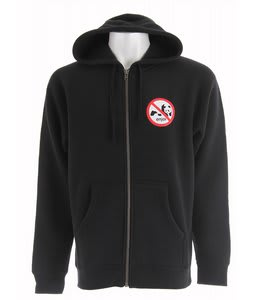 Enjoi No Enjoi Full Zip Hoodie Black