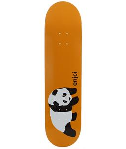 Enjoi Original Panda R7 Skateboard Orange