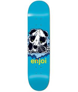 Enjoi Panda Ripper R7 Skateboard Blue 8.1 x 31.8in