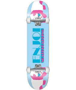 Enjoi Panda Vice Skateboard Complete Light Blue 8.0in