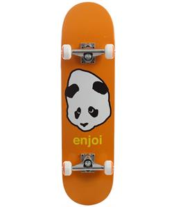 Enjoi Pandahead Skateboard Complete Orange