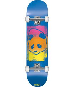 Enjoi Printhead Skateboard Complete Blue 7.6in