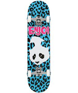 Enjoi Punk Doesn't Fit Skateboard Complete Blue 7.5in