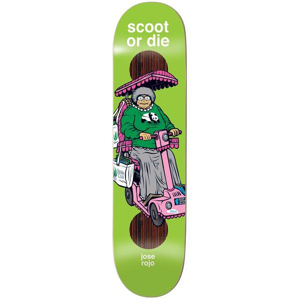 Enjoi Scooters Impact Plus Rojo Skateboard Deck