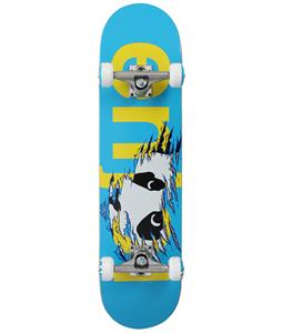 Enjoi Shredder Skateboard Complete Blue/Yellow 8in