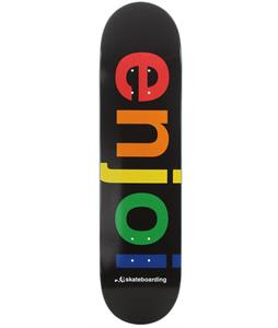 Enjoi Spectrum R7 Skateboard Black
