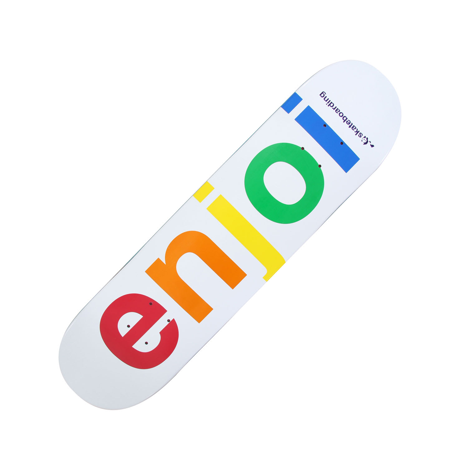 Enjoi Spectrum Skateboard Deck on PopScreen 6576fba0707