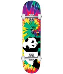Enjoi Tie Dye V3 Panda Skateboard Complete