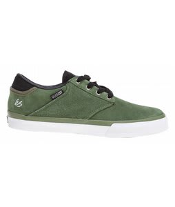 ES Edgar Skate Shoes Green/Black/White