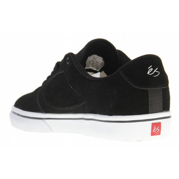Details about ES Square Two Skate Shoes Black/White Mens