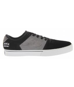 ES Square Two Fusion Skate Shoes Black/Grey