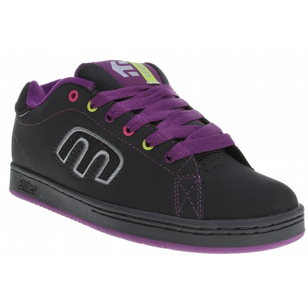 Etnies Women'S Fader Shoes - Black/Bling/Bling | Free UK Delivery