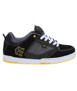 Etnies Cartel Skate Shoes Black/Grey/Yellow