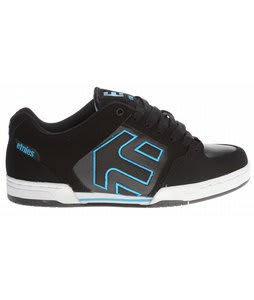Etnies Charter Skate Shoes Black/Blue/Black