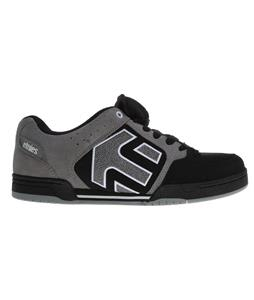 Etnies Charter Skate Shoes Black/Grey/White