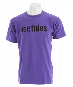 Etnies Corporate 10 T-Shirt Black/Purple