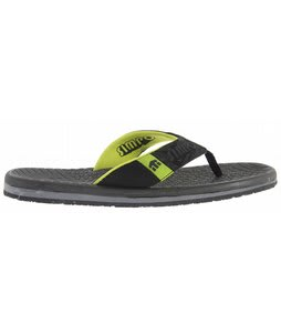 Etnies Dume Sandals Black/Lime