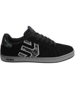 Etnies Fader LS Skate Shoes Black/Grey/Grey
