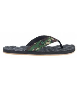 Etnies Foam Ball Sandals Black/Camo