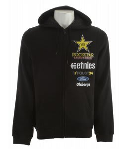 Etnies Glow Zip Hoodie Black