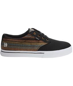 Etnies Jameson 2 Eco Skate Shoes Black/Brown