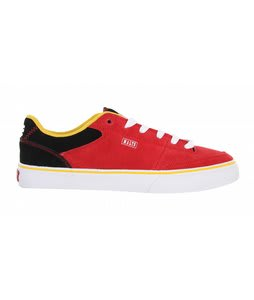 Etnies Malto Skate Shoes Red/Black
