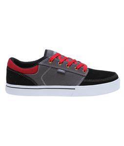 Etnies Nathan Williams Brake Skate Shoes Black/Grey/Red