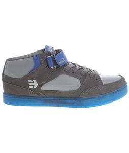 Etnies Number Mid BMX Shoes Grey/Grey/Blue