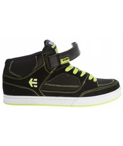 Etnies Number Mid Bike Shoes Black/Lime