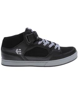 Etnies Number Mid Skate Shoes Black/Grey