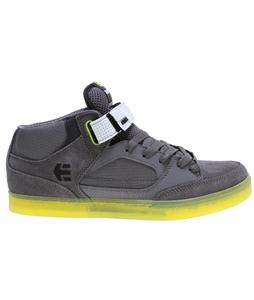 Etnies Number Mid Skate Shoes Grey/Green