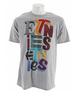 Etnies Sign Times T-Shirt Grey/Heather
