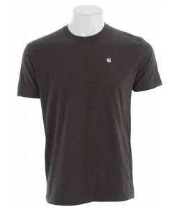 Etnies Small Icon T-Shirt Charcoal/Heather
