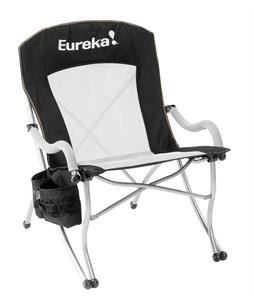 Eureka Curvy Camp Chair Black/Silver