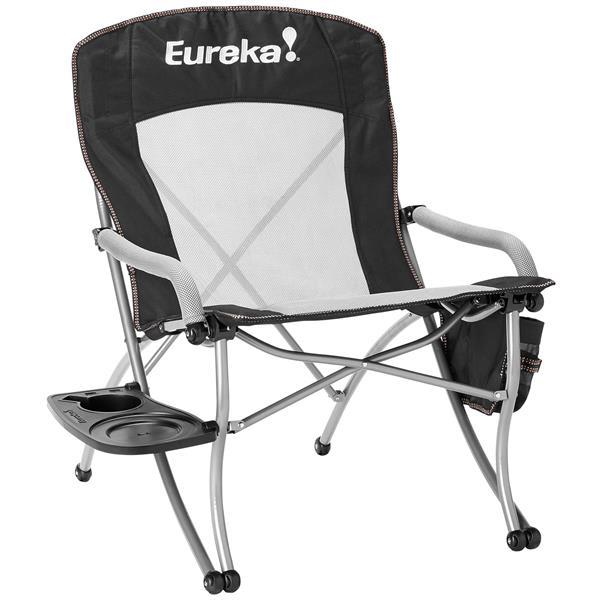 Eureka Curvy Chair w/ Side Table Camp Chair