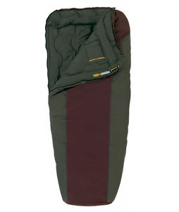 Eureka Dual Temp 10/30 Regular Sleeping Bag Red Mahongany Wren