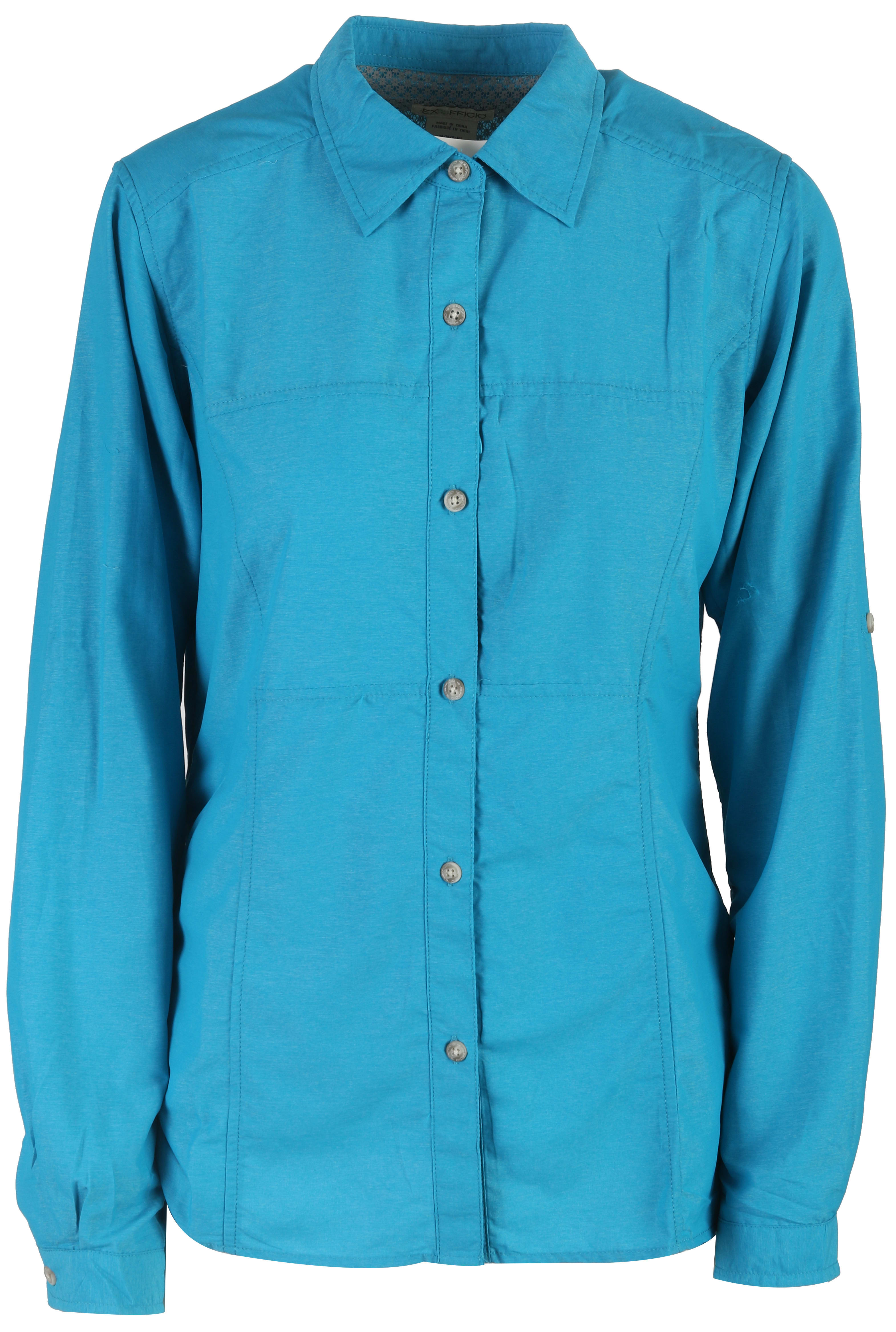on sale exofficio lightscape l s shirt womens up to 45 off