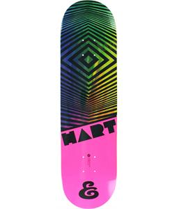 Expedition One Hart Hypercolor Skateboard Deck