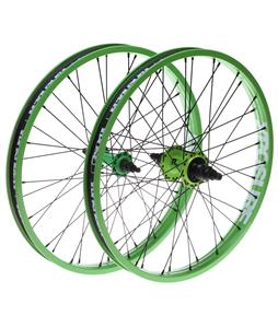 Xposure Mid Set Wheels Green 20
