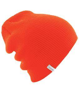 Coal The Frena Solid Beanie Flourescent Orange