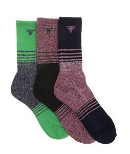 Fallen Aftershock 3pk Socks